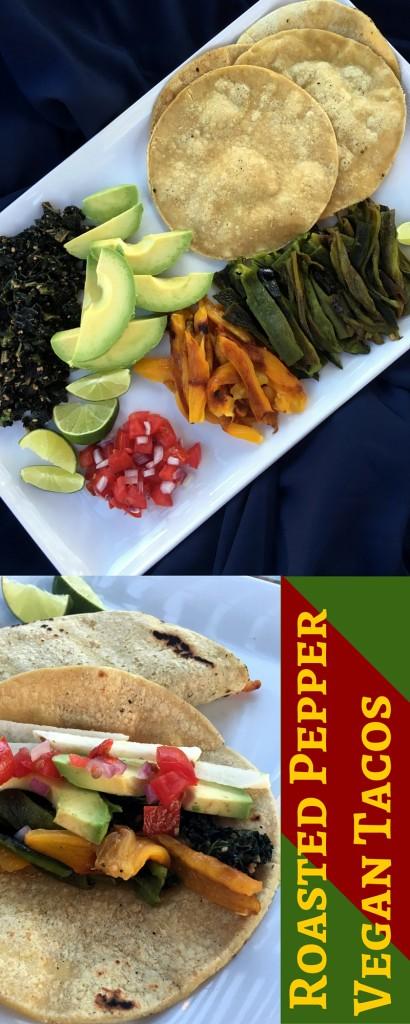 Roasted Pepper Vegan Tacos   Three Olives Branch