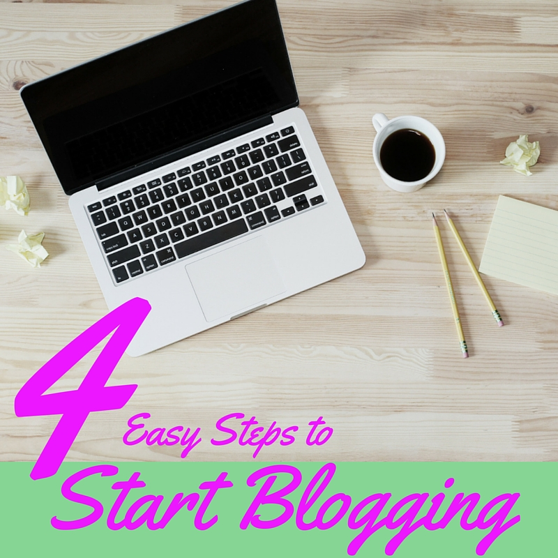 Four Easy Steps to Start Blogging | Three Olives Branch