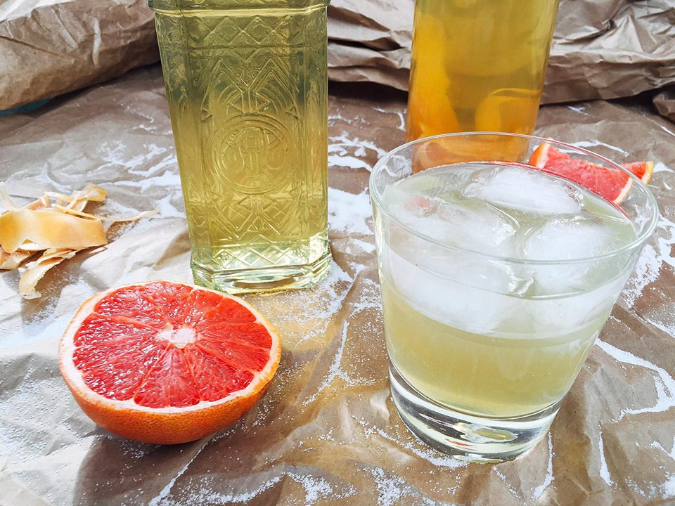 Grapefruit Limoncello | Three Olives Branch