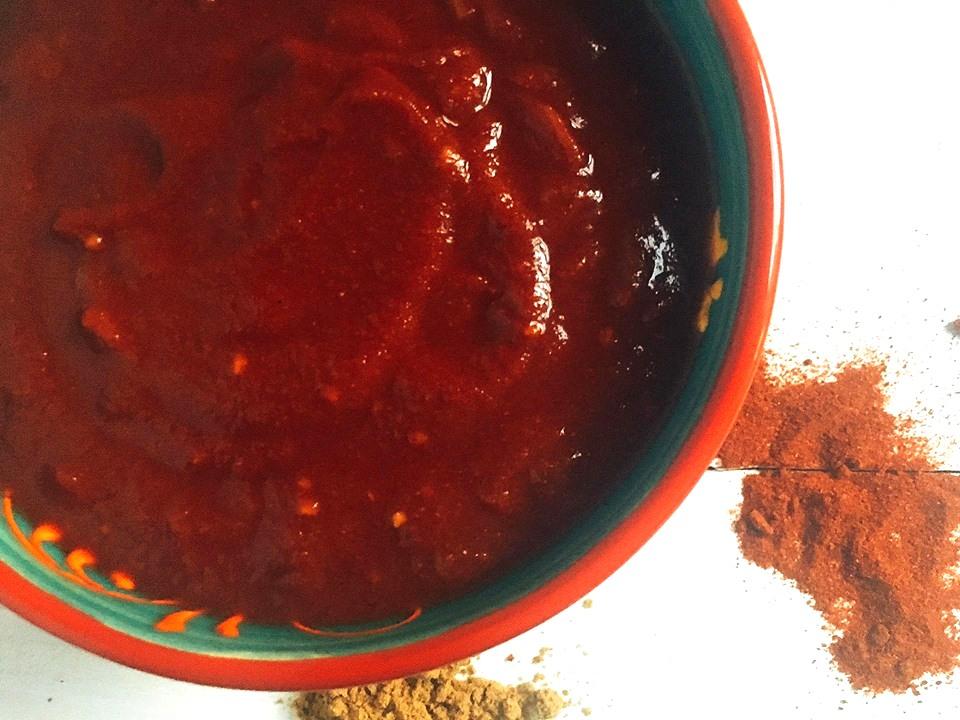 Smoky Chipotle Enchilada Sauce | Three Olives Branch