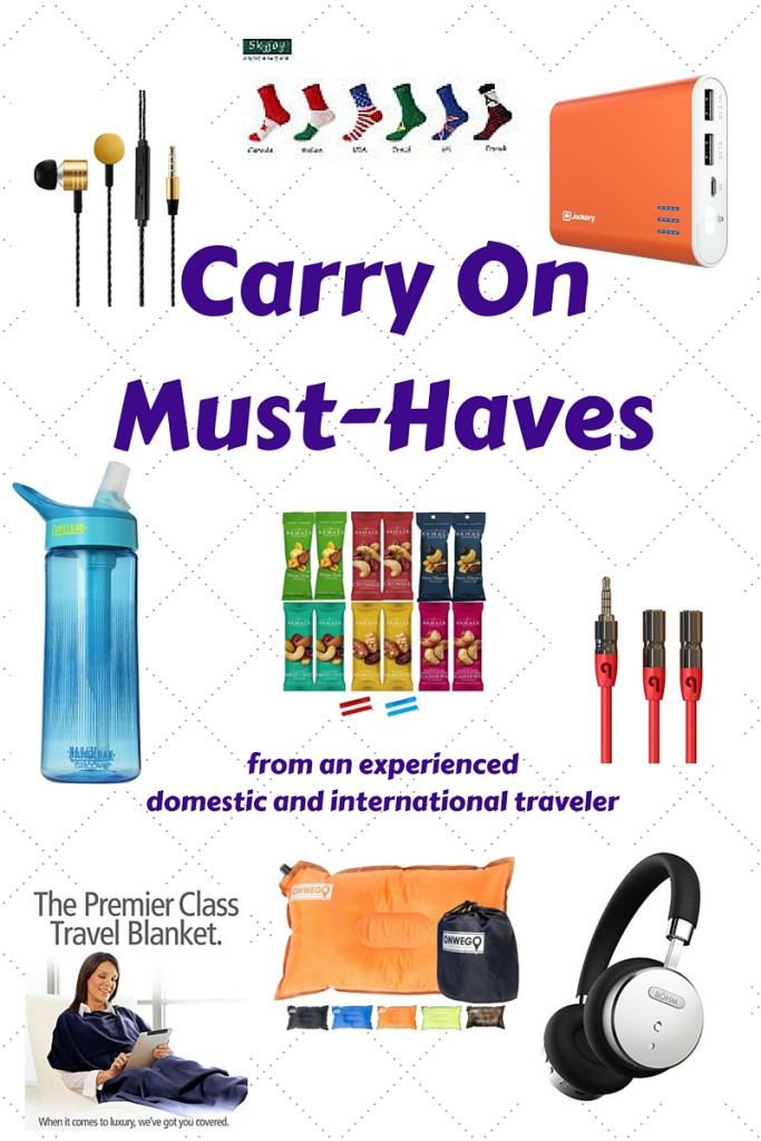 Carry On Must Haves | Three Olives Branch