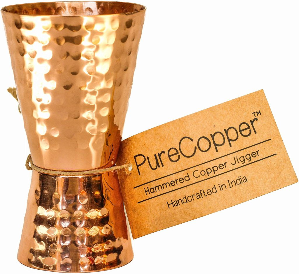 Copper Jigger - Looking for some gift ideas for the cook in your life this holiday season? These 17 Stocking Stuffers for the Cook in Your Life are a perfect list to find something special for your loved one. Great present ideas for Kwanza, Christmas, Hanukkah, and more | Three Olives Branch | www.threeolivesbranch.com
