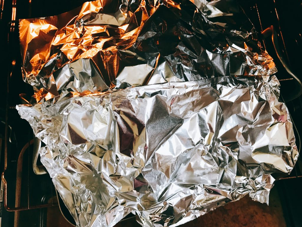 Tin Foil Tent - Some tips and tricks for roasting your Thanksgiving or holiday turkey! Include these tips as you can in your recipe of choice for a flavorful, juicy bird. Tips for a Perfectly Roasted Turkey | Three Olives Branch | www.threeolivesbranch.com