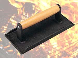 Cast Iron Press - A perfect gift for the grill lover in your life! Great for Dad, husband, men, and women. Present for Christmas, Hanukkah, birthdays, or any other gift giving holiday! | 20 Gift Ideas for Grill Lovers | Three Olives Branch | www.threeolivesbranch.com