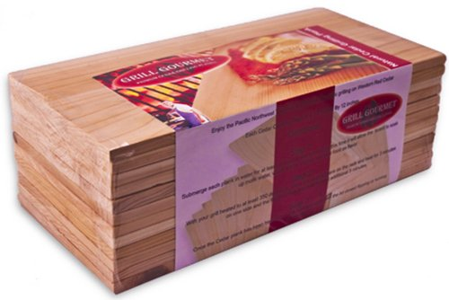 Cedar Planks - A perfect gift for the grill lover in your life! Great for Dad, husband, men, and women. Present for Christmas, Hanukkah, birthdays, or any other gift giving holiday! | 20 Gift Ideas for Grill Lovers | Three Olives Branch | www.threeolivesbranch.com