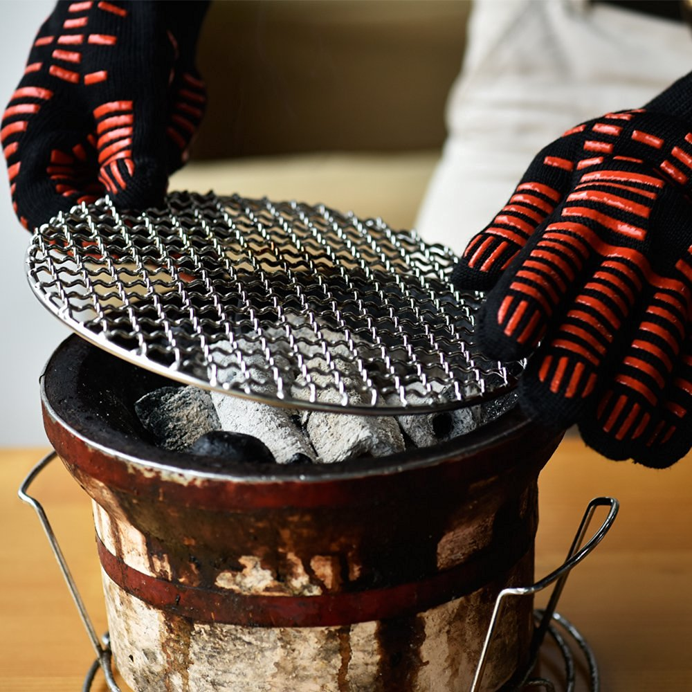 Grill Gloves - A perfect gift for the grill lover in your life! Great for Dad, husband, men, and women. Present for Christmas, Hanukkah, birthdays, or any other gift giving holiday! | 20 Gift Ideas for Grill Lovers | Three Olives Branch | www.threeolivesbranch.com