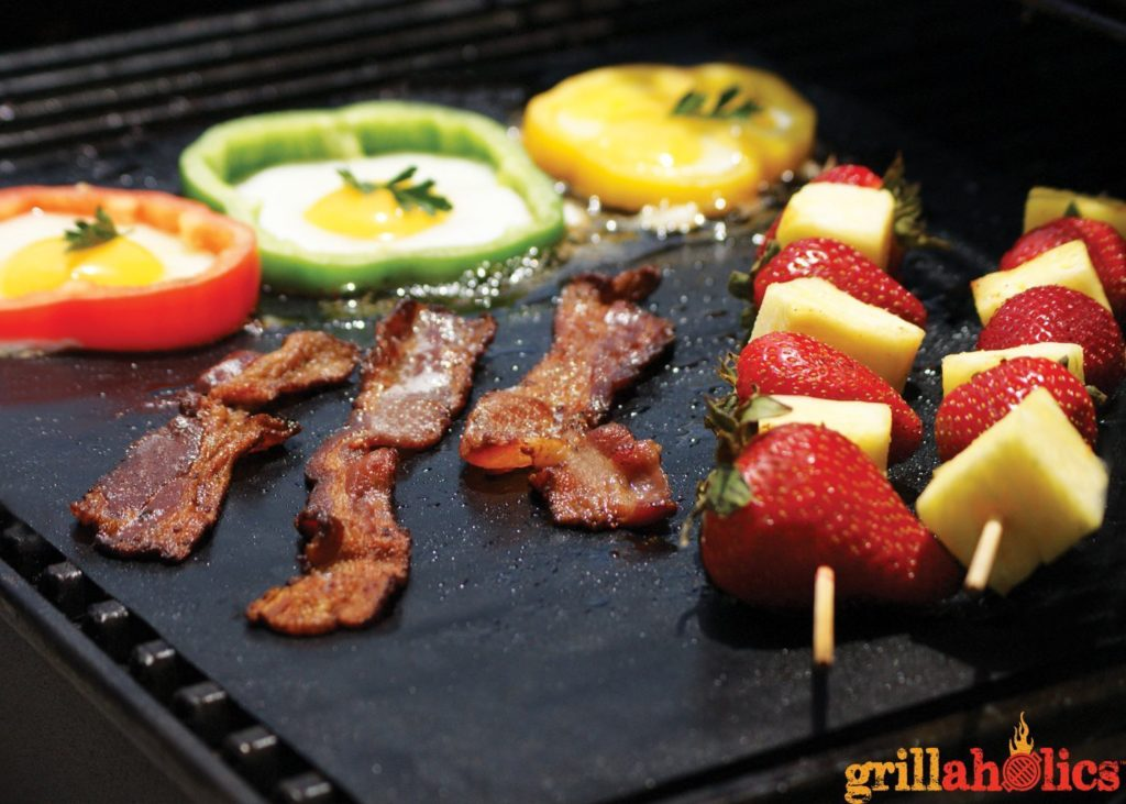 Grill Mats - A perfect gift for the grill lover in your life! Great for Dad, husband, men, and women. Present for Christmas, Hanukkah, birthdays, or any other gift giving holiday! | 20 Gift Ideas for Grill Lovers | Three Olives Branch | www.threeolivesbranch.com