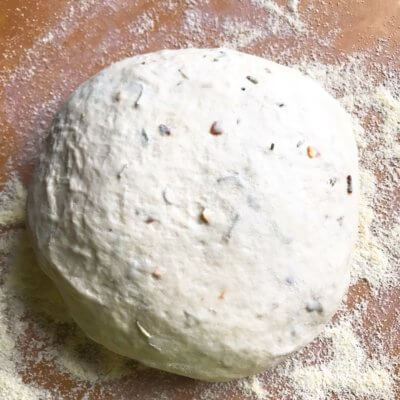 Rosemary Red Pepper Pizza Dough