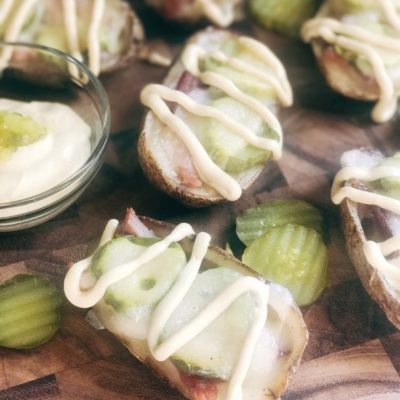 Cubano Potato Skins