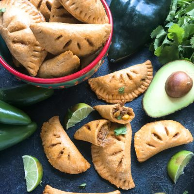 Shredded Beef and Mexican Street Corn Empanadas