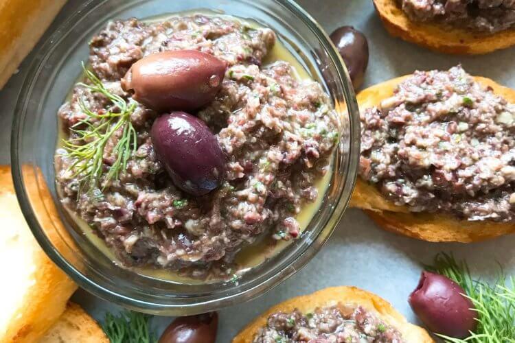 Vegan Artichoke Olive Tapenade