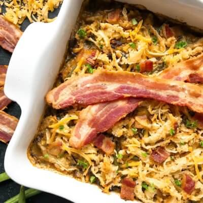 Bacon Green Bean Casserole