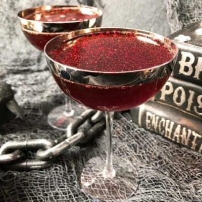 Hallows Eve Rum Halloween Cocktail Recipe Story