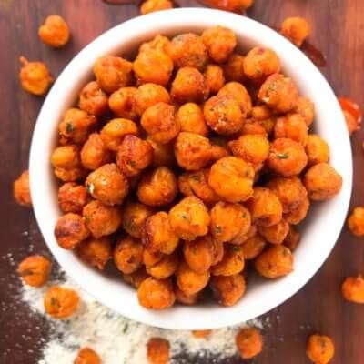 Buffalo Ranch Roasted Chickpeas Recipe Story