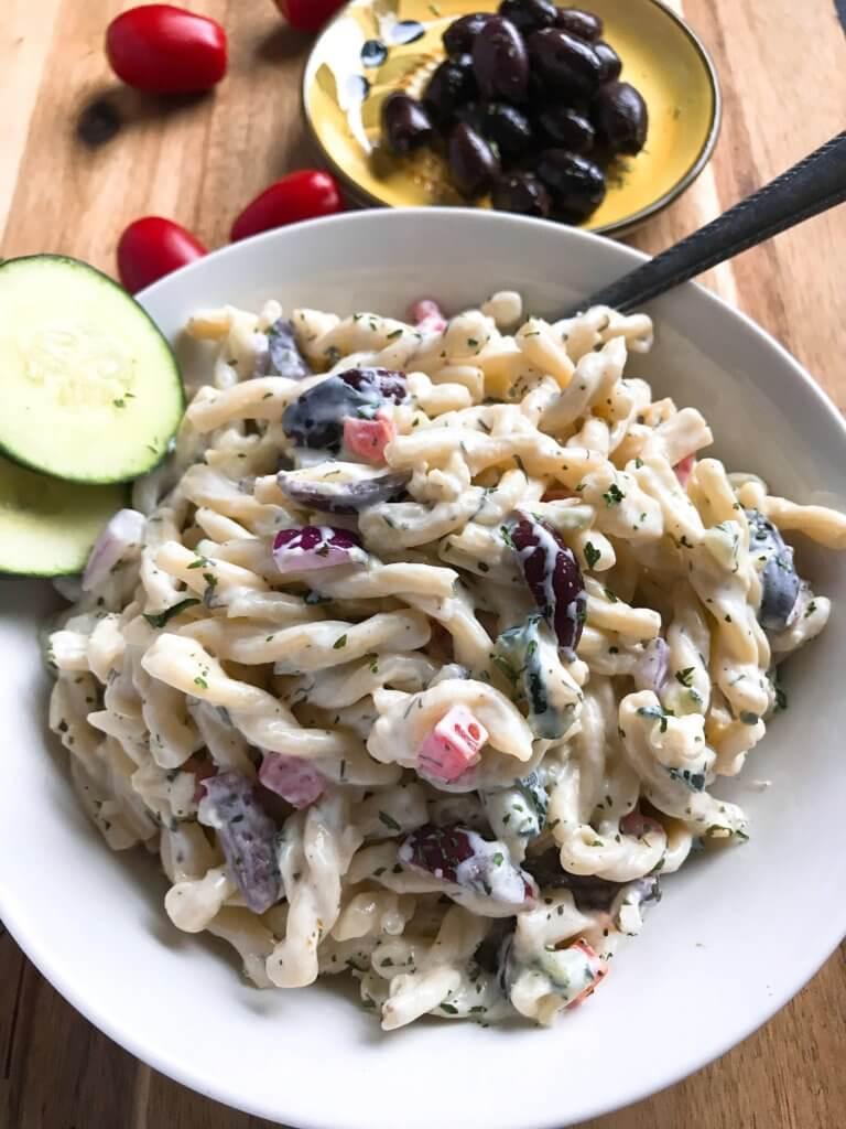 Pasta Salad Recipe Greek Yogurt
