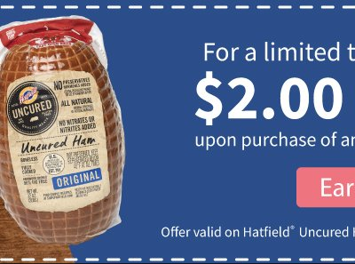 Hatfield® Ham for Easter Promotion