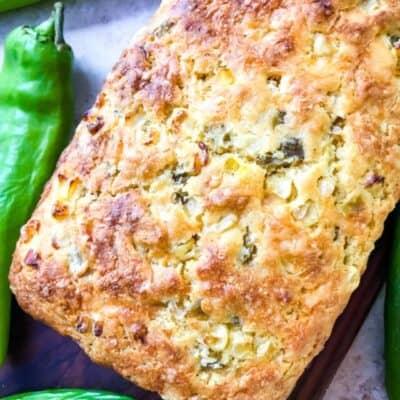 Hatch Green Chile Cheddar Cornbread Recipe Story