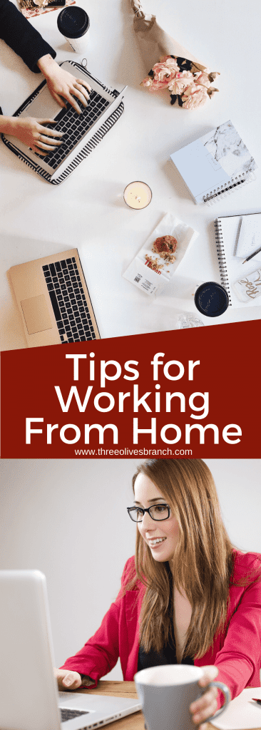 Get Tips for Working From Home and learn how to work from home due to the Coronavirus COVID-19. I work remotely and help others make this transition, and these are my favorite tips. #workremote #workfromhome