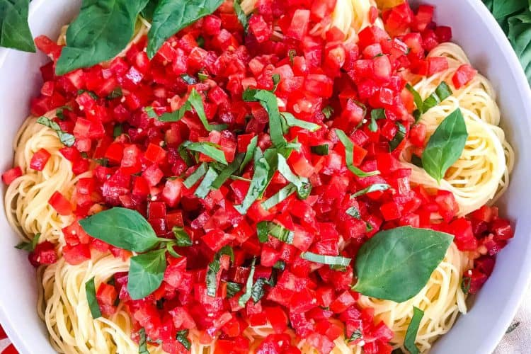 Copycat Olive Garden Capellini Pomodoro