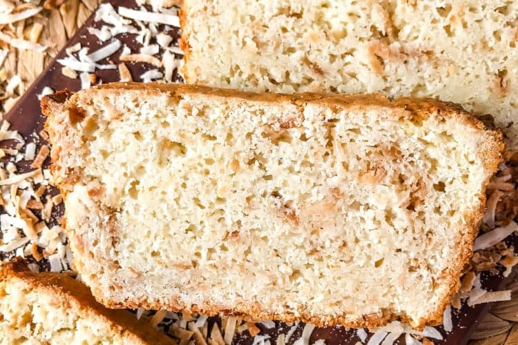 Quick Coconut Bread