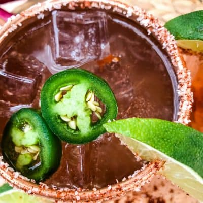 Spicy Mexican Mule Cocktail
