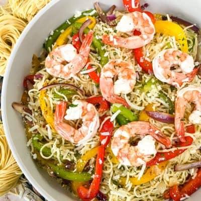 Copycat Olive Garden Shrimp Scampi