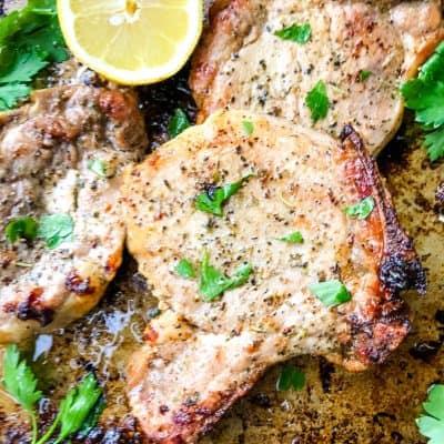 Italian Baked Pork Chops