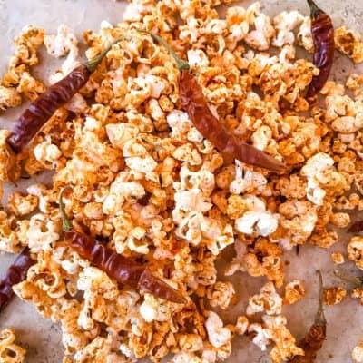 Homemade Cajun Popcorn