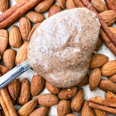Homemade Cinnamon Almond Butter