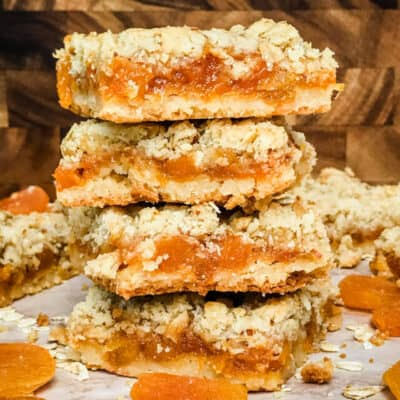 Apricot Crumble Bars Recipe Story