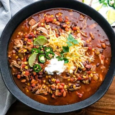 Chicken Taco Soup Recipe Story
