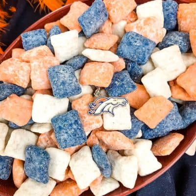 Denver Broncos Puppy Chow