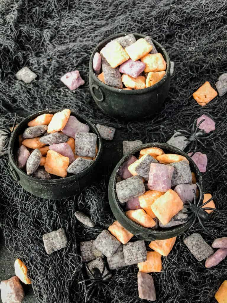 Cauldrons full of muddy buddies