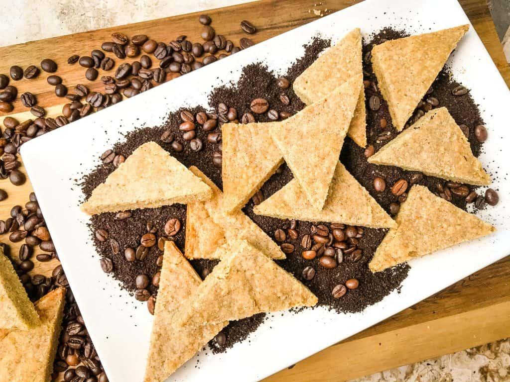 Coffee Shortbread Recipe