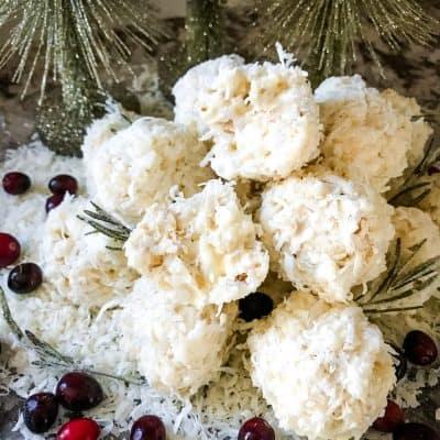 Snowball Popcorn Balls