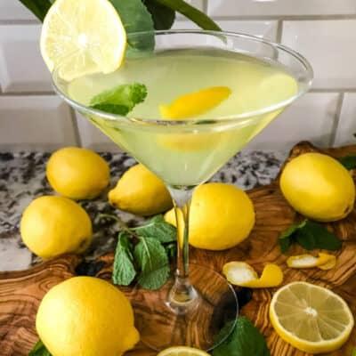 Amalfi Martini Limoncello Recipe Story