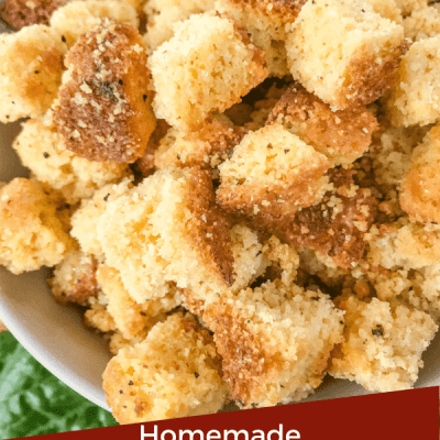 Homemade Mexican Croutons