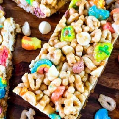 Lucky Charms Cereal Bar Story