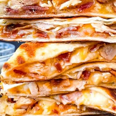 Chicken Bacon Ranch Quesadilla Recipe Story