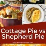 Pin image for Shepherd Pie vs Cottage Pie (Plus 20 Recipes)