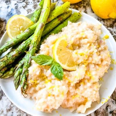 Risotto al Limone (Lemon Risotto)