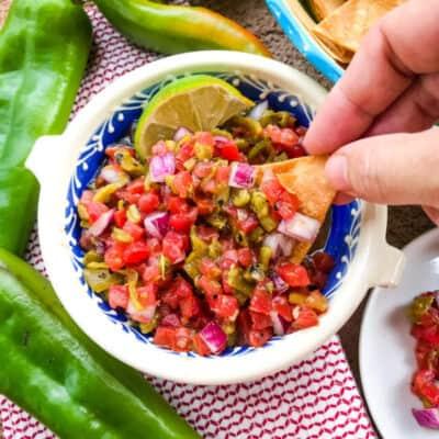 Hatch Chile Pico de Gallo Recipe Story