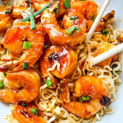 Chipotle Orange Glazed Shrimp