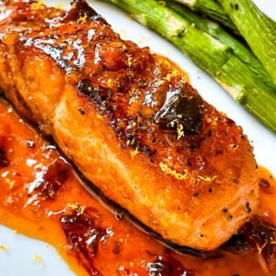 Chipotle Orange Salmon Recipe Story