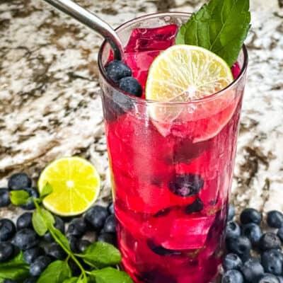 Blueberry Mojito Recipe Story