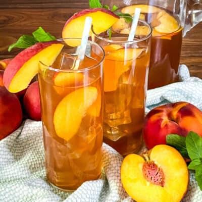 Peach Tea Recipe Story