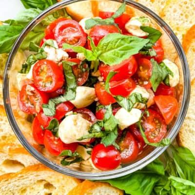 Bruschetta with Mozzarella Recipe Story