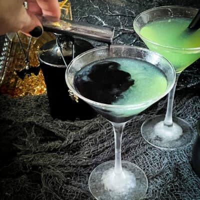 Poison Apple Halloween Cocktail