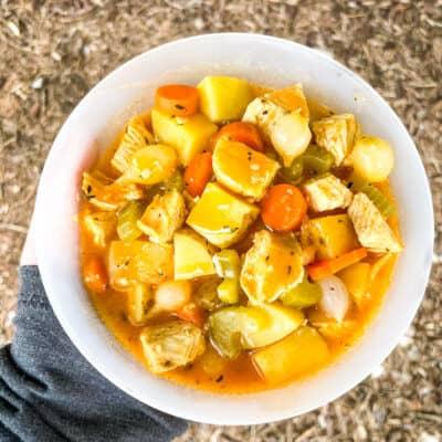 Chicken Campfire Stew
