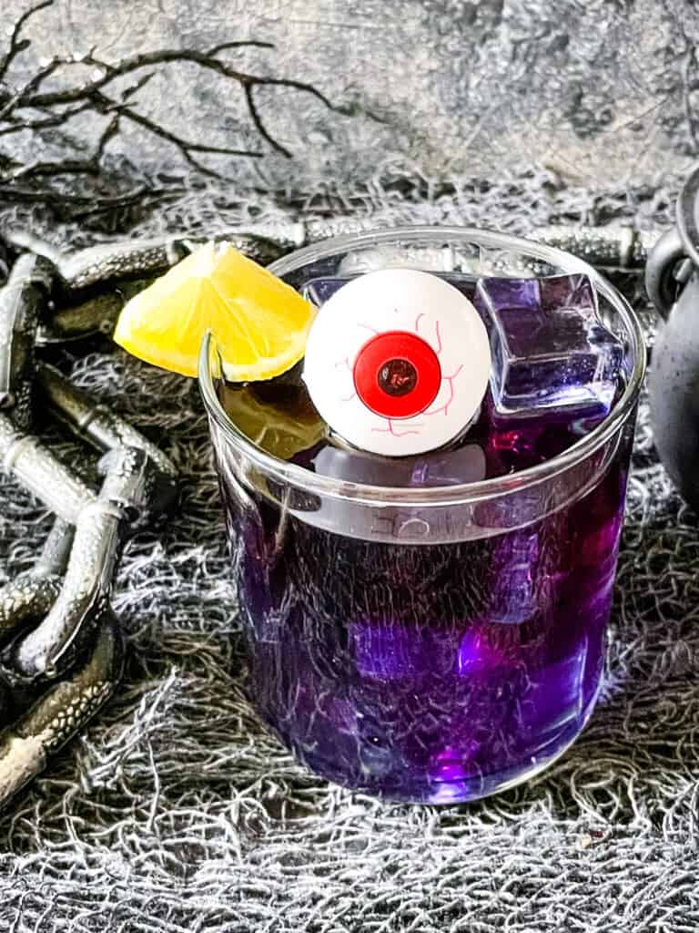 The purple drink decorated